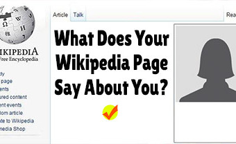 What Does Your Wikipedia Page Say About You?