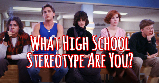 highschool stereotypes Since the 1980s and '90s golden age of high school comedies, the genre has  fallen victim to clichés well-worn plots, predictable.
