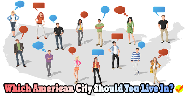 which american city should you live in quiz social. Black Bedroom Furniture Sets. Home Design Ideas