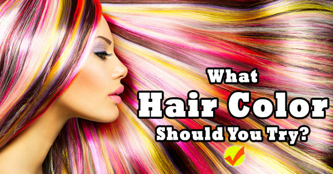 What Hair Color Should You Try Quiz Social
