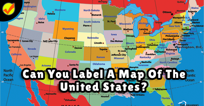 Can You Label A Map Of The United States? | Quiz Social