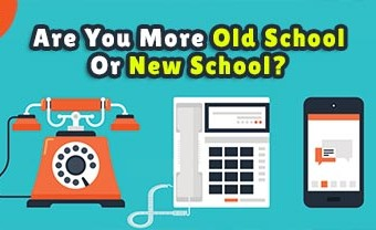 Are You More Old School Or New School?