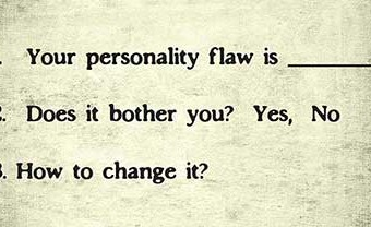 What Is Your Personality's Biggest Flaw?