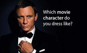 Which Movie Character Do You Dress Like?