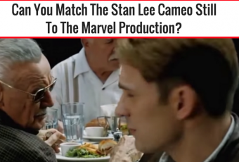 Can You Match The Stan Lee Cameo Still To The Marvel Production?