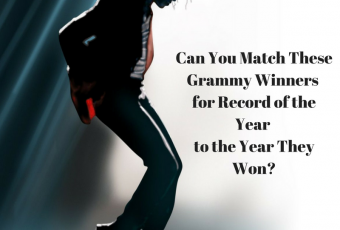Can You Match These Grammy Winners for Record of the Year to the Year They Won?