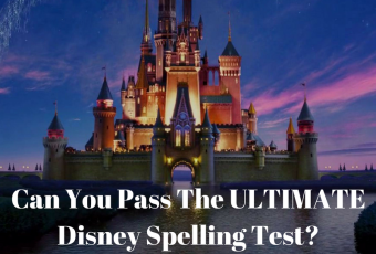 Can You Pass The ULTIMATE Disney Spelling Test?