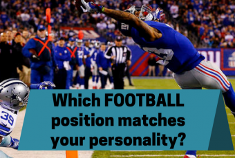 Which football position matches your personality?