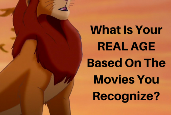 What Is Your REAL Age Based On The Movies You Recognize?