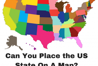 Can You Place The US State On A Map?