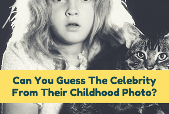 Can You Guess The Celebrity From Their Childhood Photo?