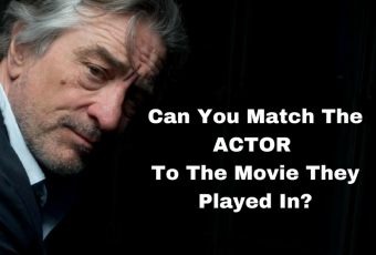 Match The Actor To The Film They Starred In