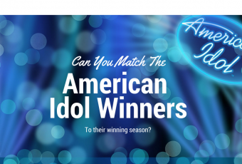 Match the American Idol Winner to His/Her Winning Season