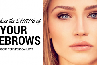 What Does Your Eyebrow Shape Reveal About Your Personality?