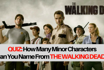 How Many Minor Characters From The Walking Dead Can You Name?