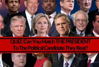 Can You Match The President To The Political Candidate They Beat?