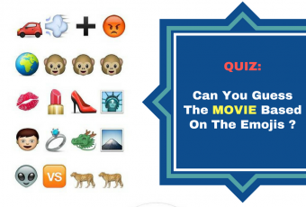 Can You Guess The Movie Based On The Emoji?