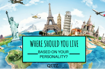 Where Should You Live Based On Your Personality