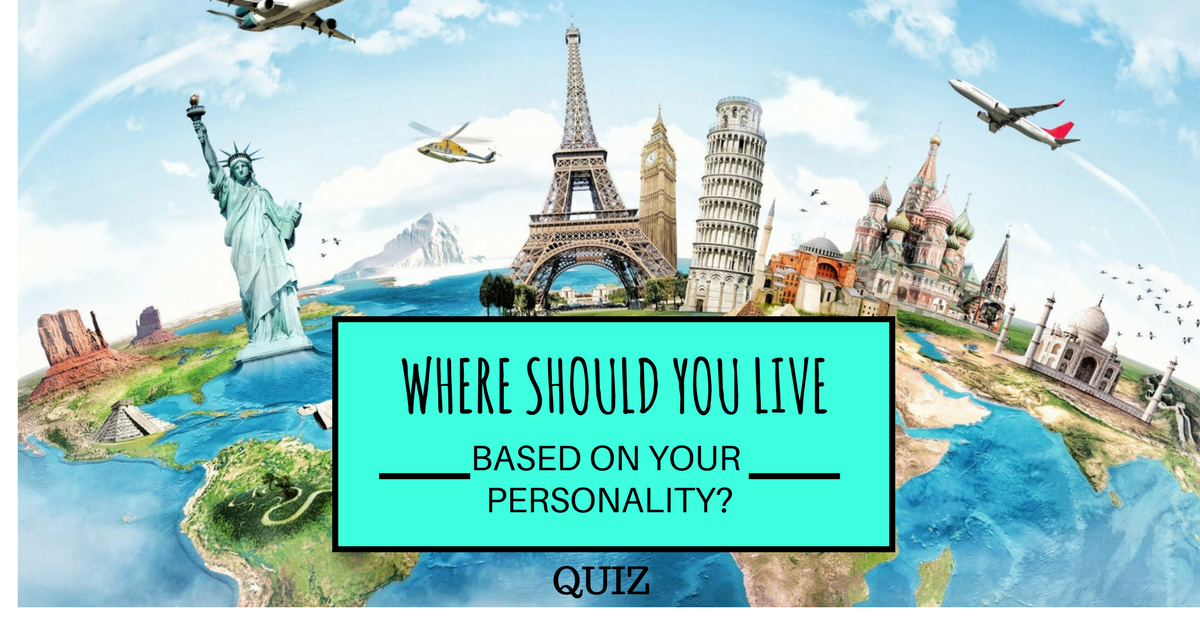 Where Should You Live Quiz Social