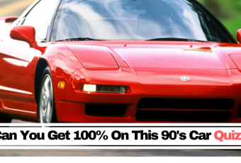 Can You Get 100% In The '90s Supercar Quiz?