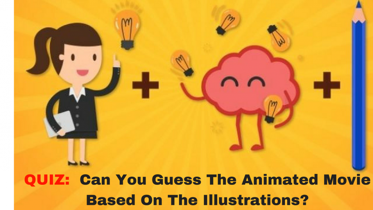 Can You Guess The Animated Movie From The Illustrations