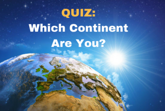 Which Continent Are You?