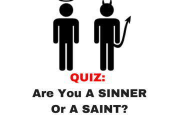 Are You A Sinner Or A Saint?