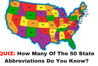 How Many Of The 50 State Abbreviations Do You Know?