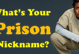 What Would Be Your Nickname In Prison?